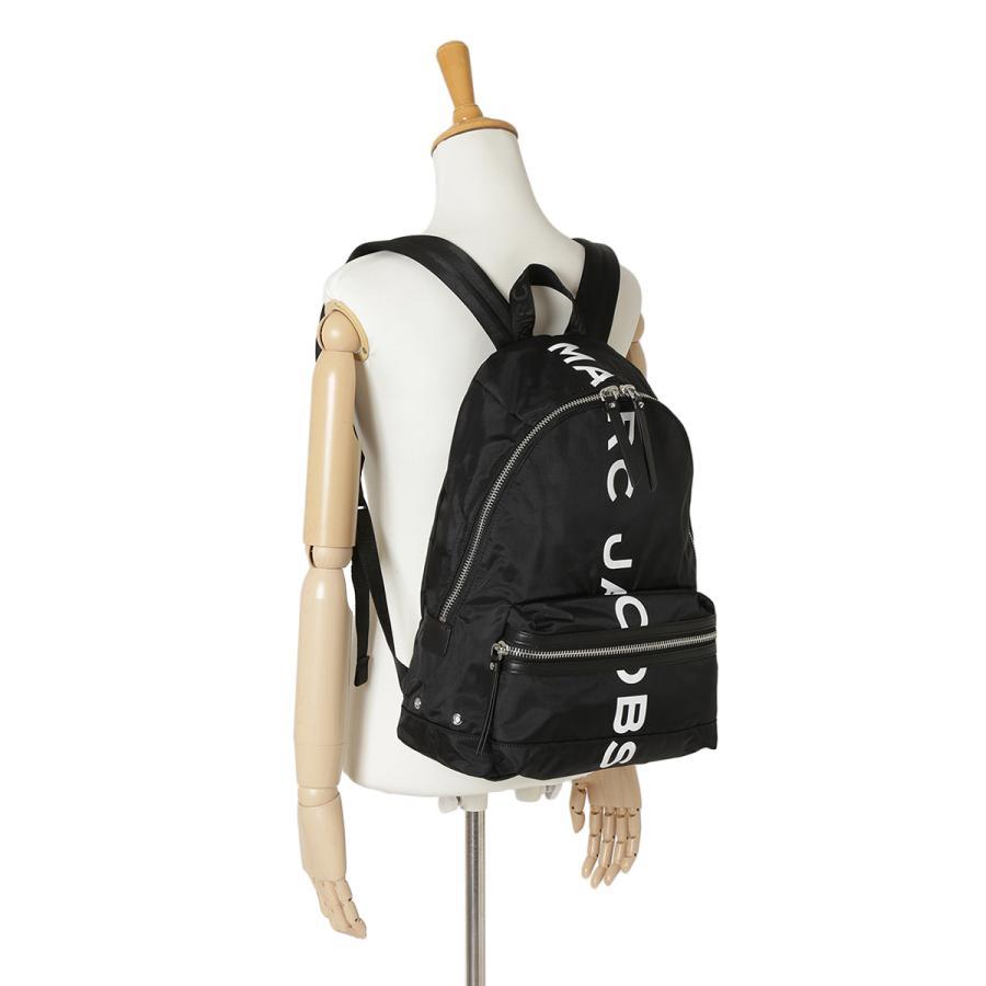 【即納】マーク ジェイコブス Marc Jacobs ユニセックス バックパック・リュック バッグ Backpack M0016409 BLACK A4対応 ロゴ|fermart|05