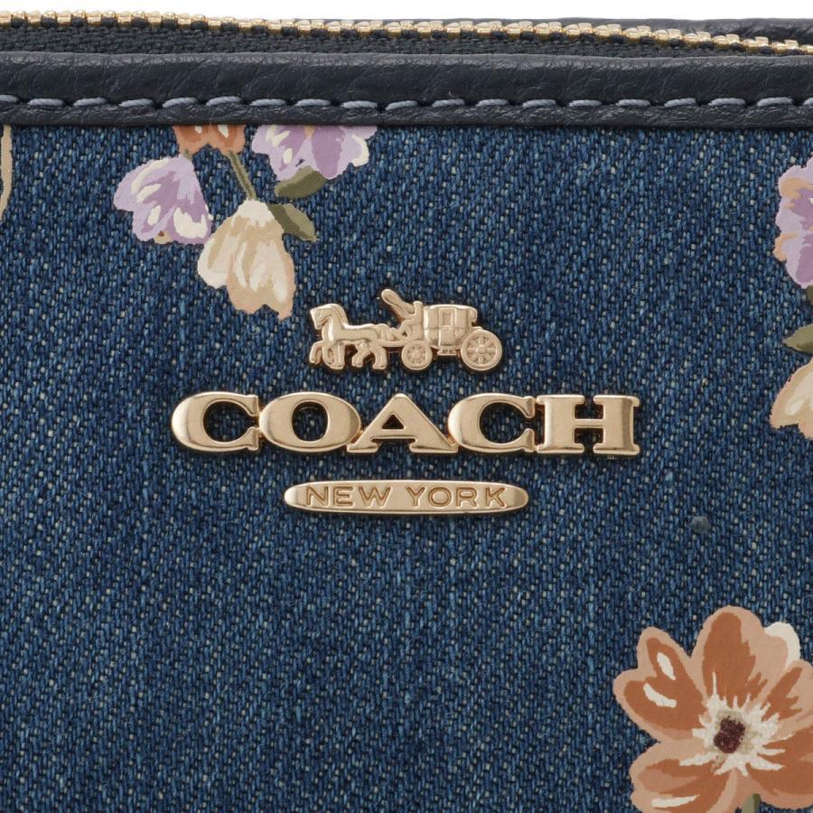 【即納】コーチ Coach レディース ショルダーバッグ バッグ Zip Top Crossbody 88681 IMDEI デニム 2way 花柄 クロスボディ ポシェット|fermart|07