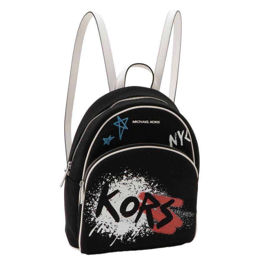 【即納】マイケル コース Michael Kors レディース バックパック・リュック バッグ 35s0sf7b2r Graffiti Abbey BLACK グラフィティ アビー|fermart