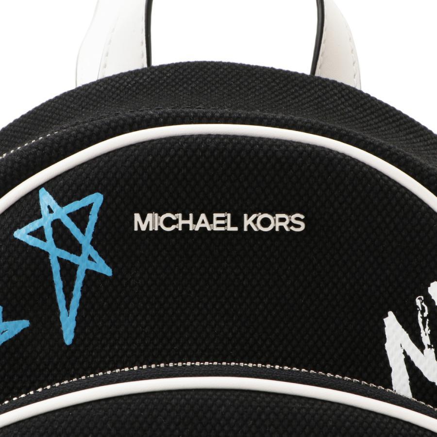 【即納】マイケル コース Michael Kors レディース バックパック・リュック バッグ 35s0sf7b2r Graffiti Abbey BLACK グラフィティ アビー|fermart|05