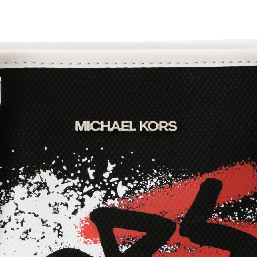 【即納】マイケル コース Michael Kors レディース トートバッグ バッグ 35s0sf7t0r Graffiti Tote BLACK 2WAY ショルダーバッグ グラフィティ|fermart|07
