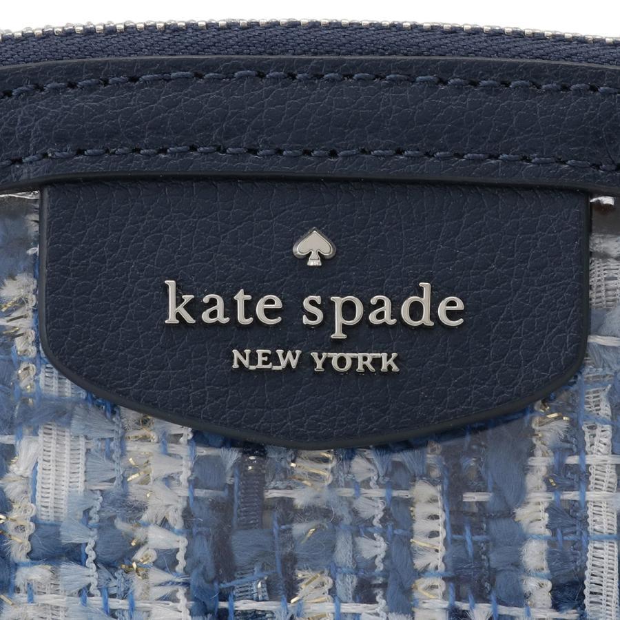 【即納】ケイト スペード Kate Spade レディース ポーチ Sylvia Seethrough Tweed Medium Dome Cosmetic Wlru5988 fermart 03