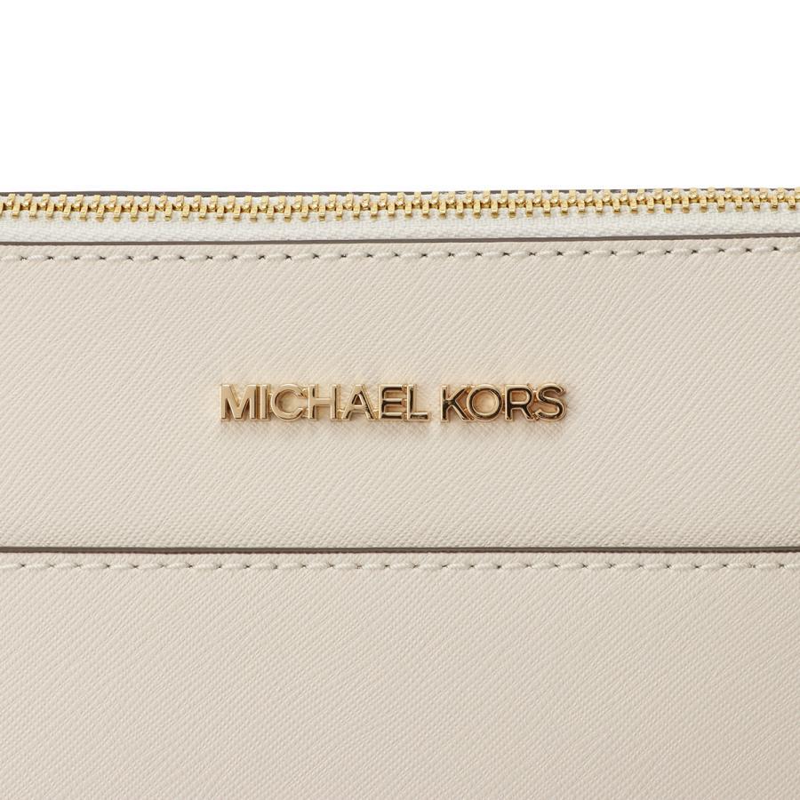 【即納】マイケル コース Michael Kors レディース トートバッグ バッグ Ciara Lg Tote 35T8GC6T9L WHITE シアラ A4対応 ロゴチャーム|fermart|06