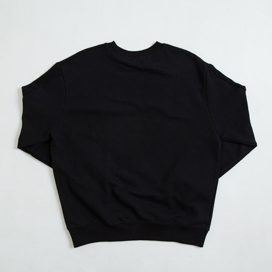 【即納】エンコーデッド ENCODED メンズ スウェット・トレーナー トップス VIVID SIDELINE SWEAT PO black|fermart|02
