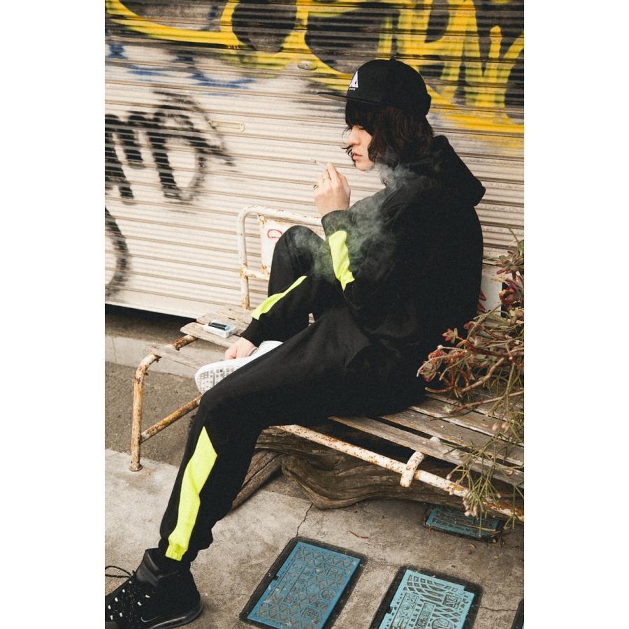 【即納】エンコーデッド ENCODED メンズ スウェット・トレーナー トップス VIVID SIDELINE SWEAT PO black|fermart|04