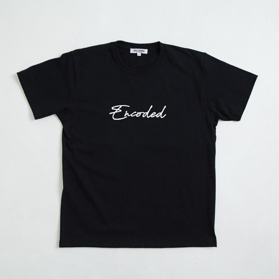 【即納】エンコーデッド ENCODED メンズ Tシャツ トップス Encoded STREAM TEE black|fermart