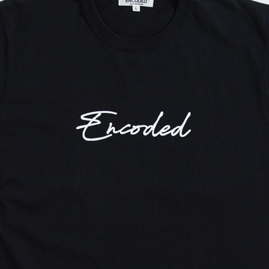 【即納】エンコーデッド ENCODED メンズ Tシャツ トップス Encoded STREAM TEE black|fermart|03