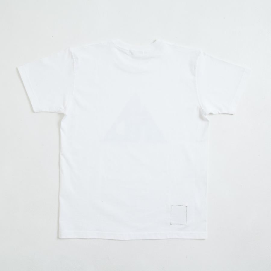 【即納】エンコーデッド ENCODED メンズ Tシャツ トップス TRIANGLE EMBLEM TEE white|fermart|02