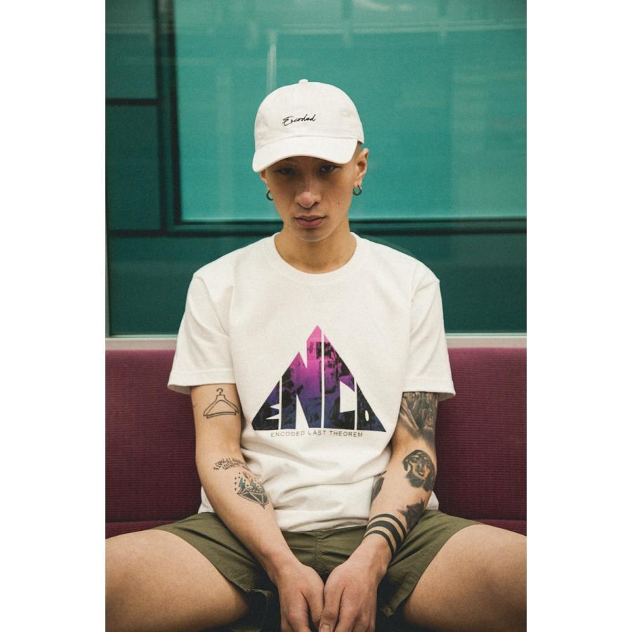【即納】エンコーデッド ENCODED メンズ Tシャツ トップス TRIANGLE EMBLEM TEE white|fermart|04