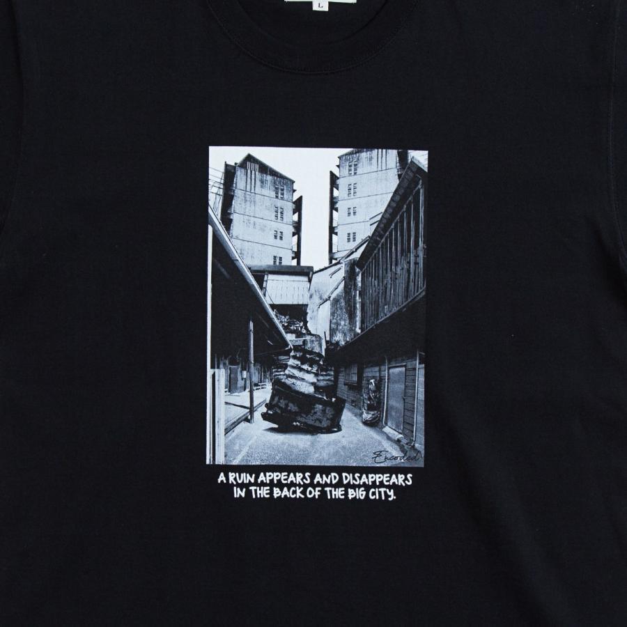 【即納】エンコーデッド ENCODED メンズ Tシャツ トップス BIG CITY PHOTO TEE black|fermart|03