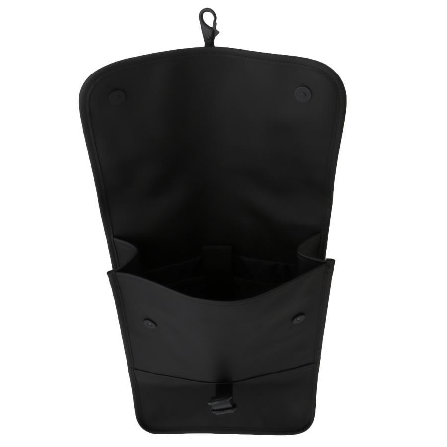 【即納】レインズ RAINS ユニセックス バックパック・リュック バッグ Backpack Mini 1280 Black タウンユース 通勤 通学 撥水 防水 デイパック A4サイズ fermart 03