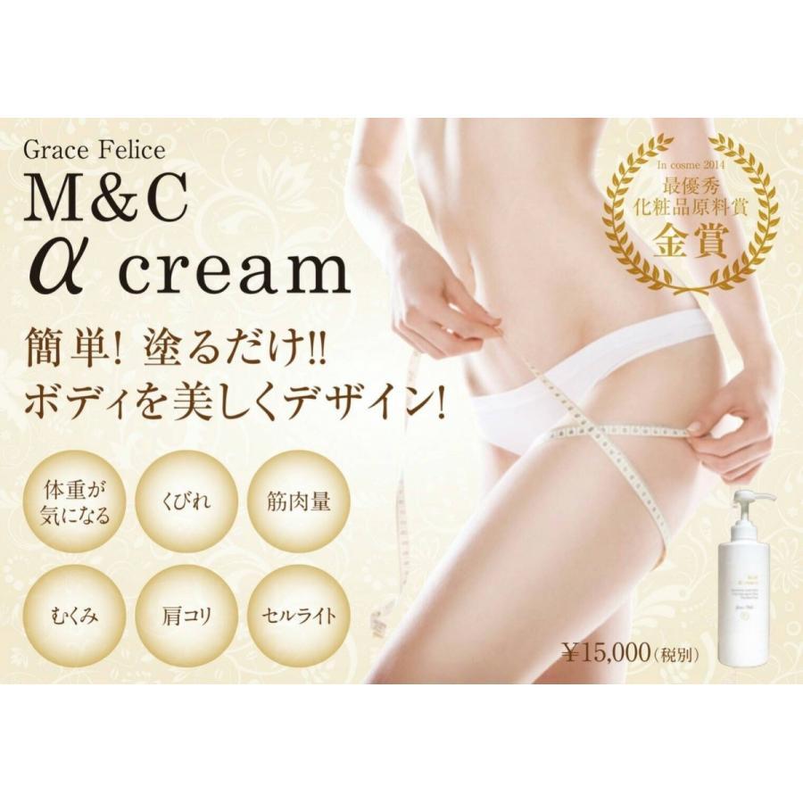 エステサロンで大人気!【ボディクリエイト】M&Cアルファクリーム|fess-beauty