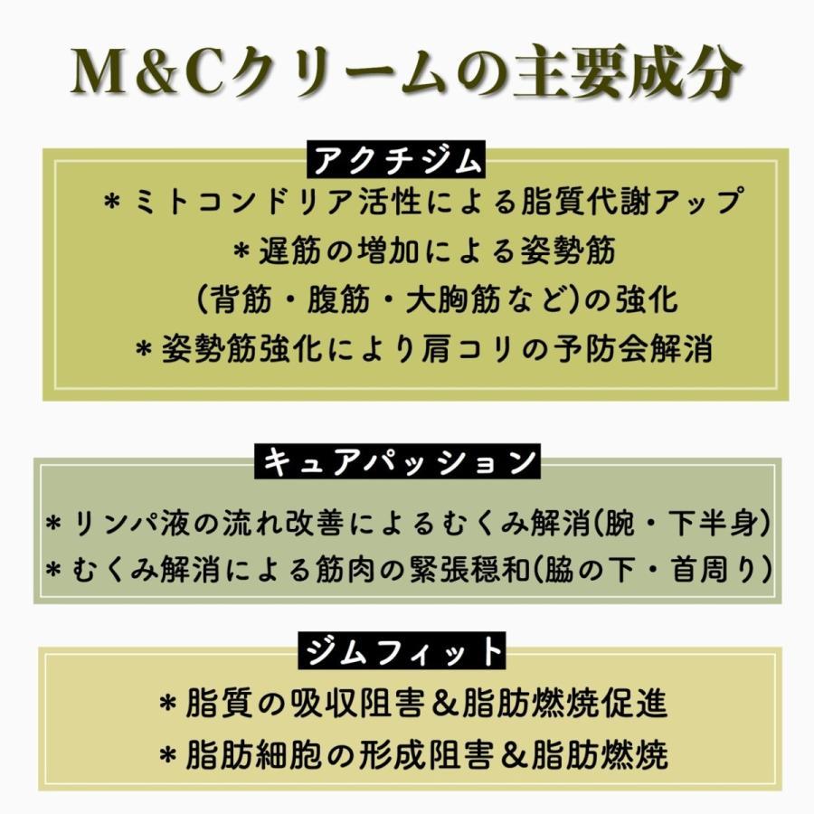 エステサロンで大人気!【ボディクリエイト】M&Cアルファクリーム|fess-beauty|03