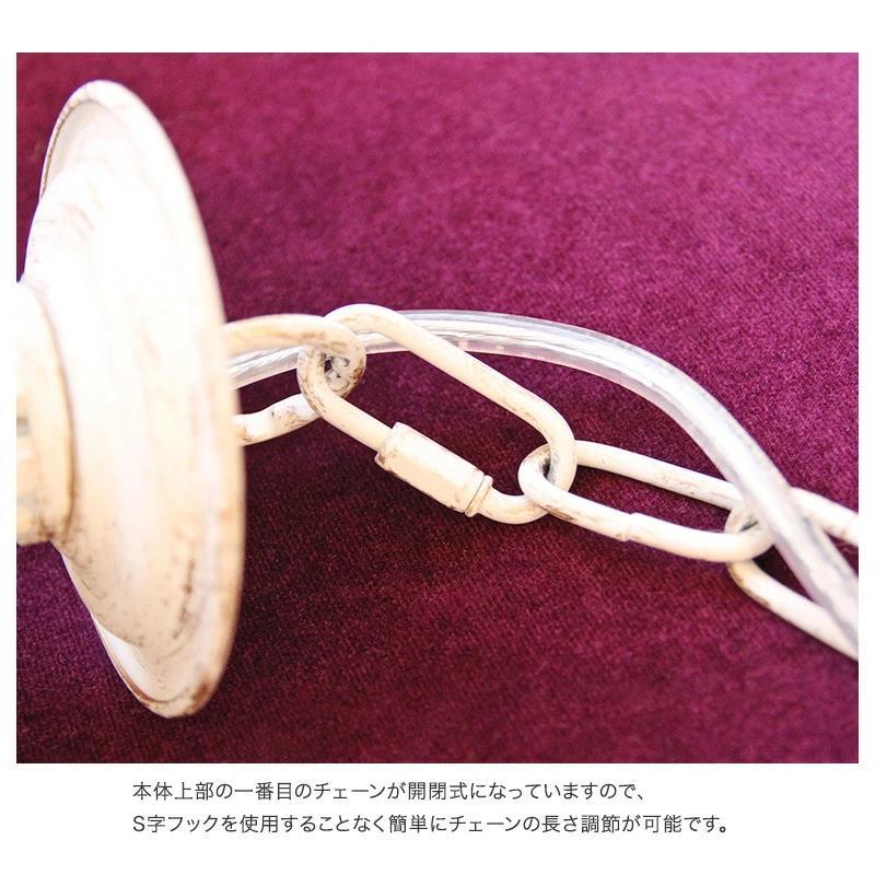 シャンデリア ボヌール 5灯 アンティーク ホワイトブラッシュゴールド/アンティーク ブロンズ|feufeu|10