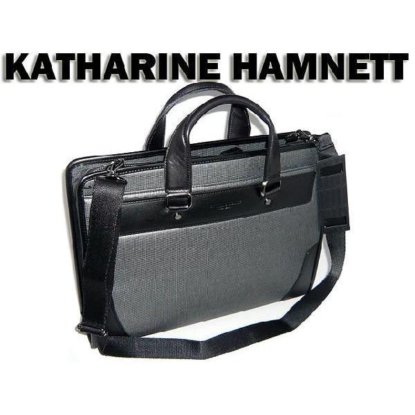 期間限定特別価格 キャサリンハムネット KATHARINE 小 HAMNETT ビジネスバッグ・ブリーフケース HAMNETT 小 黒 黒 ブラック クロ 千鳥格子 490-7080 sanyo06, トミソン:edc29fa6 --- secure32btc.xyz