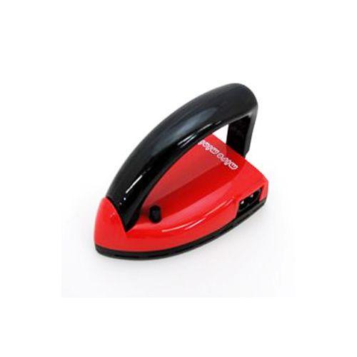 VITORA mire mini ミニレミ(ハンドル可倒式アイロン)カラー:赤 [ミニアイロン 携帯 手作りマスク] ficst