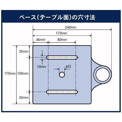 パオック(PAOCK) 【数量限定セール】PS ミニボール盤 MDP-100 卓上|ficst|03