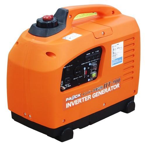 【数量限定セール】1年保証書付  当日発送 PAOCK(パオック) インバータ発電機 HT-900 定格出力900VA ficst