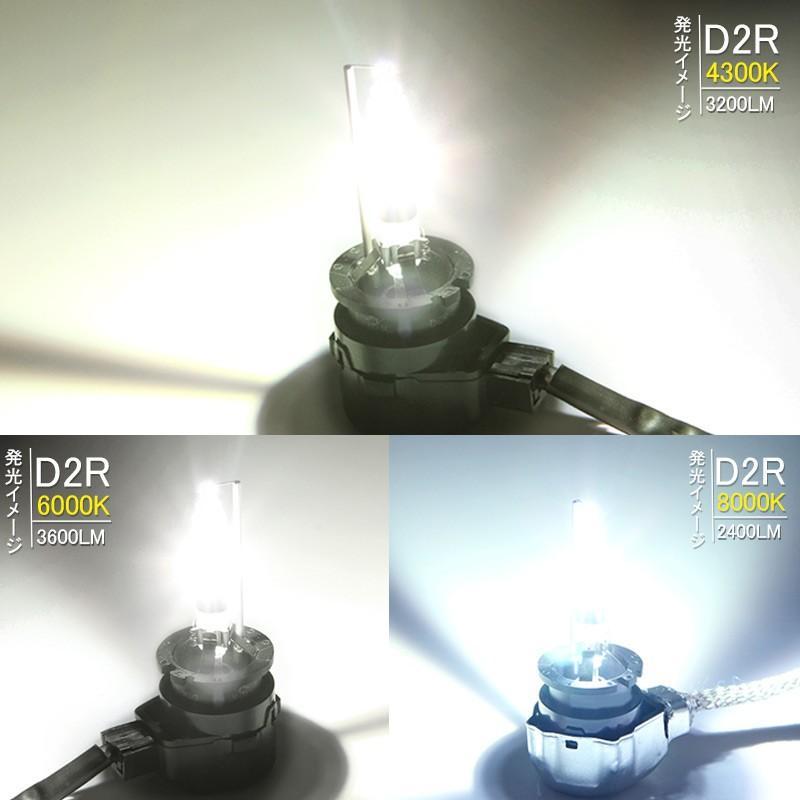 安心1年保証 超人気 純正交換用HIDバルブ D2R 35W 4300K/6000K/8000K リフレクタータイプ 石英ガラス ヘッドライト 新型車対応|field-ag|03