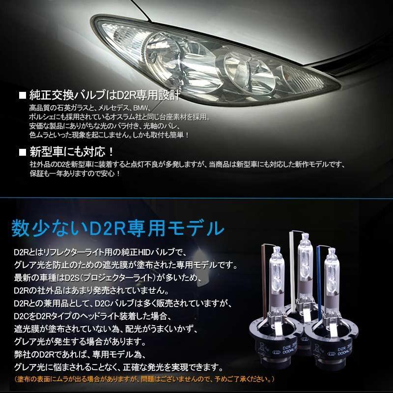 安心1年保証 超人気 純正交換用HIDバルブ D2R 35W 4300K/6000K/8000K リフレクタータイプ 石英ガラス ヘッドライト 新型車対応|field-ag|06