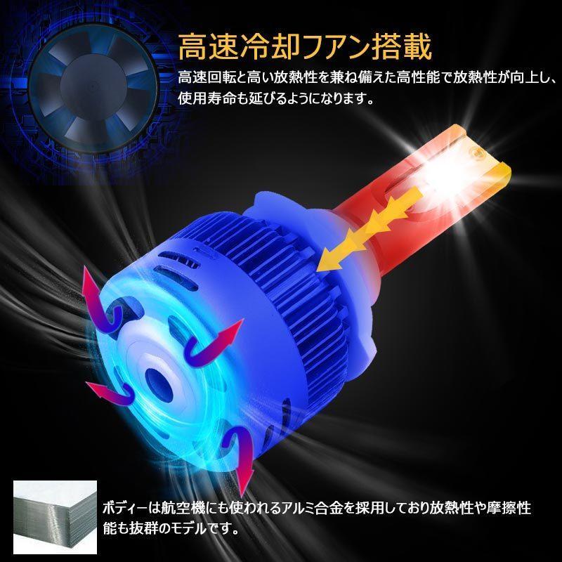 9005/HB3 オールインワン LEDヘッドライト 6000Kホワイト 4500K暖白 3000Kイエロー 調光機能付き LEDフォグランプ 片側30W 6000LM SS30 電装 パーツ|field-ag|07