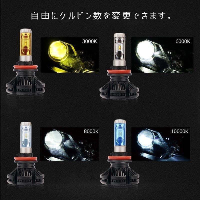 X3Plus LEDヘッドライト H8/H11/H16 6000LM 車検対応 業界初DC9~60V対応 長寿命 調整簡単 高輝度 IP67 ファンレス field-ag 06