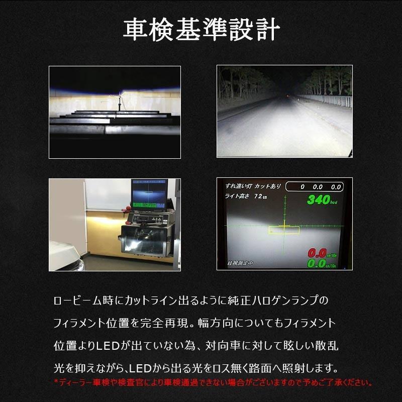 X3Plus LEDヘッドライト H8/H11/H16 6000LM 車検対応 業界初DC9~60V対応 長寿命 調整簡単 高輝度 IP67 ファンレス|field-ag|08