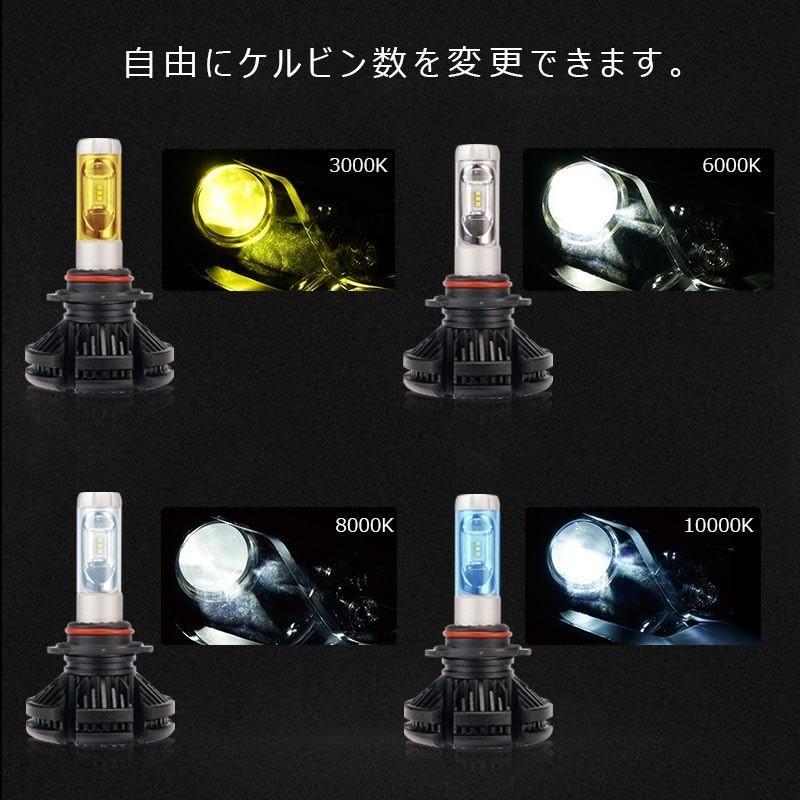 X3Plus LEDヘッドライト HB3/9005 6000LM 車検対応 業界初DC9~60V対応 長寿命 調整簡単 高輝度 IP67 ファンレス|field-ag|06