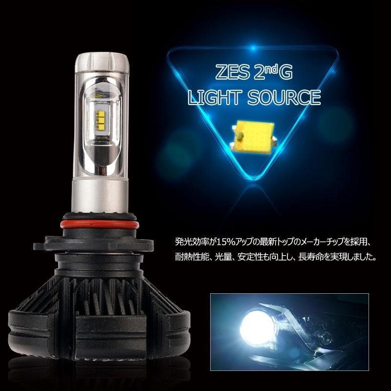 X3Plus LEDヘッドライト HB3/9005 6000LM 車検対応 業界初DC9~60V対応 長寿命 調整簡単 高輝度 IP67 ファンレス|field-ag|07