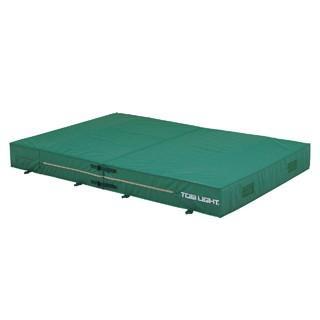 トーエイライト エバーマット 屋内外兼用エバーマット(防水エステル帆布)·二つ折り 200×300×30cm(F) G-1544 特殊送料(ランク:24) (TOL) (QCB02)