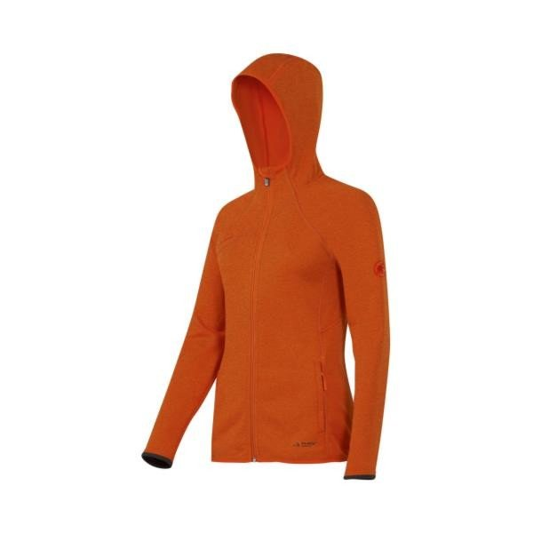 [宅送] Get Away Hooded Jacket Women orange m?lange M ( 1010-14831-2105-M / MAT10271388 )( マムート )(QBJ37), 大特価!! 924e530e