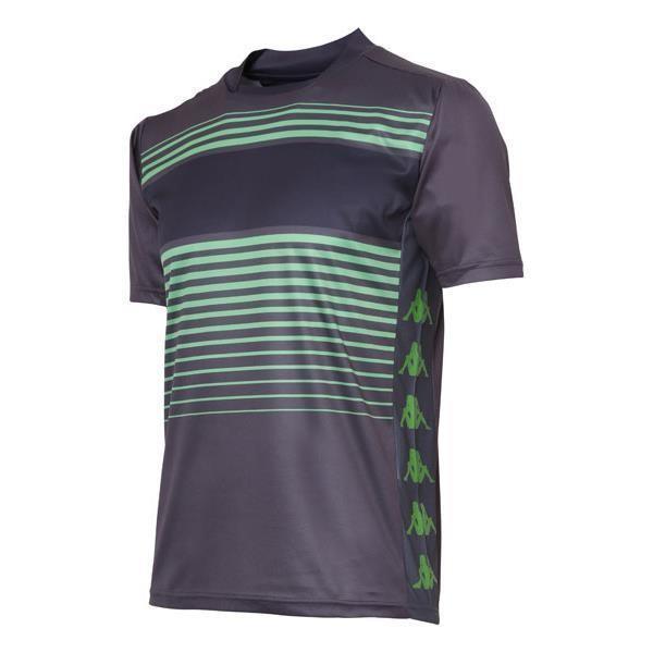 ゲームシャツ オフブラック M カッパ メンズTシャツ 半袖 ( KU612GT04-OB-M / JSK )(QBJ37)