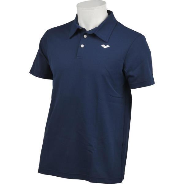 ALULJA70-NVY ライフスタイル ポロシャツ ネイビー アリーナ メンズ ポロシャツ トップス (ARN)(QBJ37)