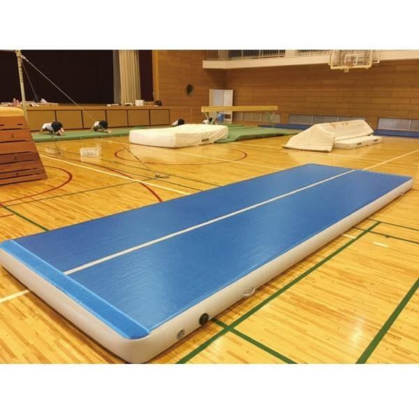 三和体育 SANWATAIKU マット エアマット 高反発仕様 t20cm 120cm×600cm S-9587 特殊送料(ランク:お見積り) (SWT) (QCB02)