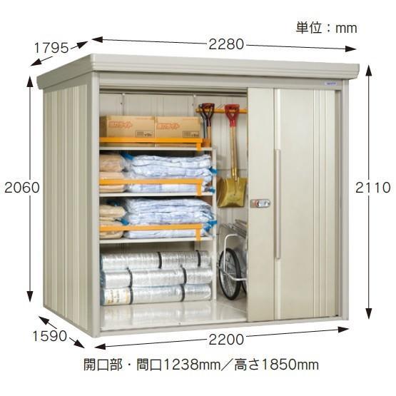 三和体育 SANWATAIKU 倉庫 防災倉庫(タクボ物置) S-9510 特殊送料(ランク:お見積り) (SWT) (QCB02)