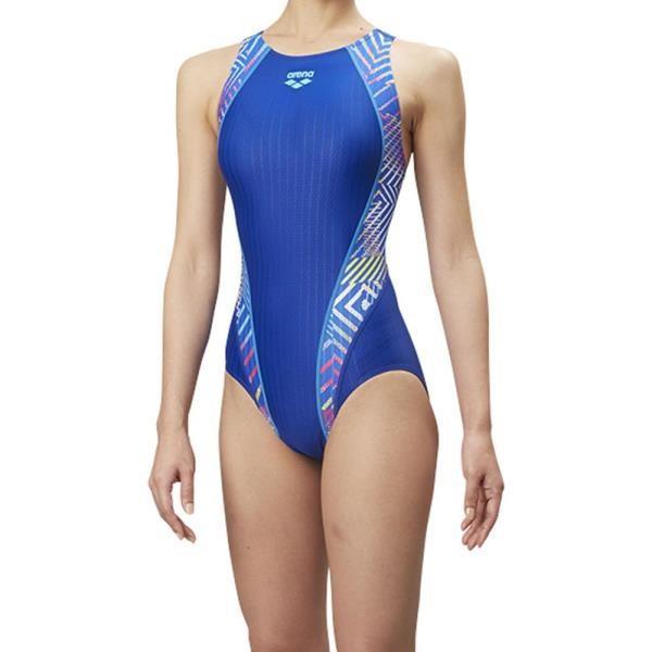 ARN8069W-DBLU セイフリーバック レディース 競泳用水着(Fina承認) Dブルー アリーナ レディース 競泳水着 スイムウェア (ARN)(QBJ37)