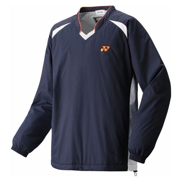 UNI 中綿入りVブレーカー ネイビーブルー ヨネックス テニスウェア バドミントンウェア (YNX)(QBJ37)