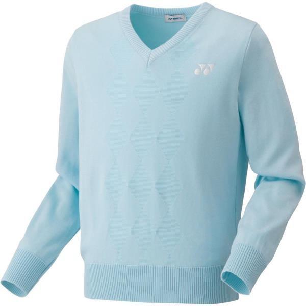 ユニ セーター サックス ヨネックス テニスウェア バドミントンウェア (YNX)(QBJ37)