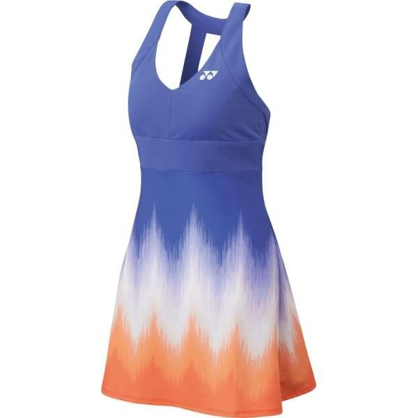 ウィメンズ ワンピース(インナースパッツ付) バイオレット ヨネックス スカート レディース テニスウェア (YNX)(QBJ37)