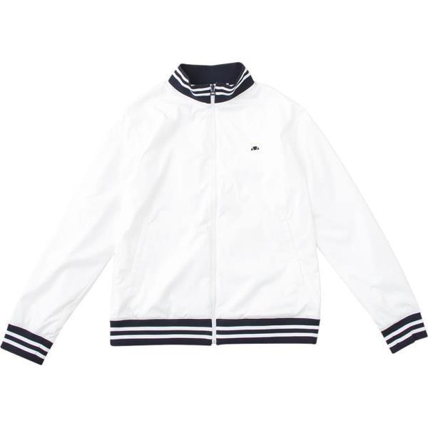 クラブウインドジャケット ホワイト エレッセ メンズ ジャケット アウター (ELE)(QBJ37)