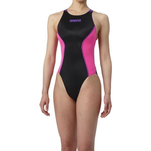リミック(クロスバック) アリーナ レディース 競泳用水着 Fina承認 (ARN)(QBJ37)