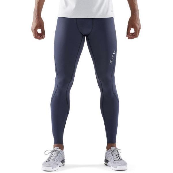 スパッツ メンズ タイツ メンズ スポーツウェア メンズ A200 DNAMIC CORE メンズ ロングタイツ ネイビー/ブルー (SKN)(QBJ37)