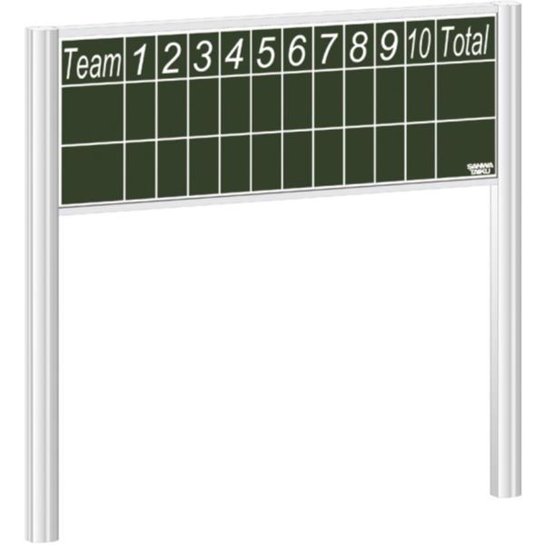 得点盤 スコアボード 体育用品 野球スコアボード 埋込式 S-0905 特殊送料(ランク:お見積り) (SWT) (QCB02)