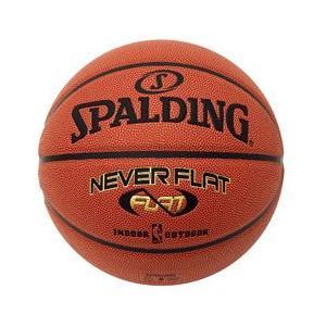 バスケ スポルディング NEVERFLAT(ネバーフラット) バスケットボール 練習球7号 (SP119107/74-445J)QBI07(QBJ37)