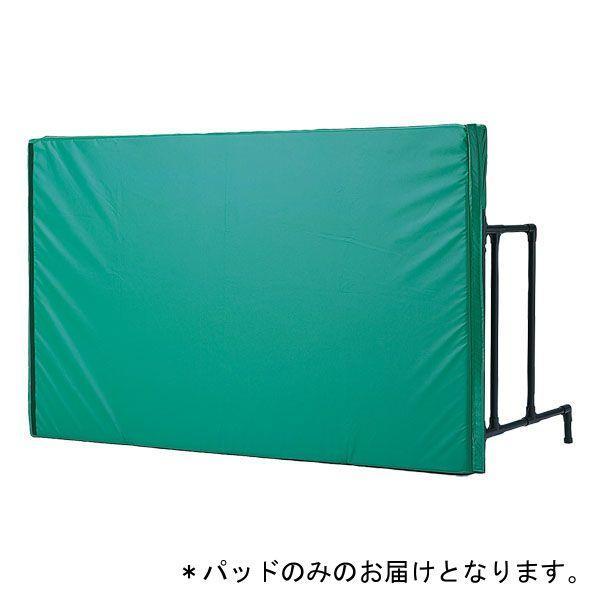 外野フェンス 野球簡易式外野フェンス用パット(グリーン)D-6975G 特殊送料:ランク(別途)(DAN)(QBJ37)