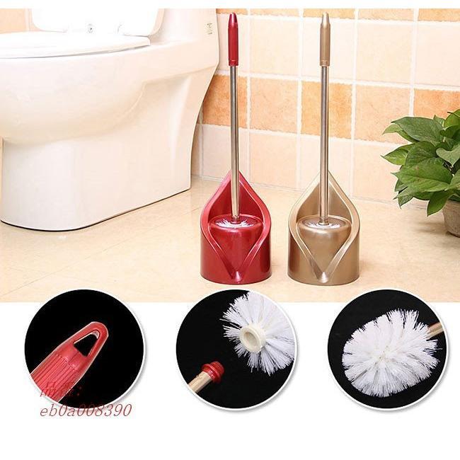 トイレ掃除用品 スリム トイレブラシ ケース付き 便器の死角|fihone|07