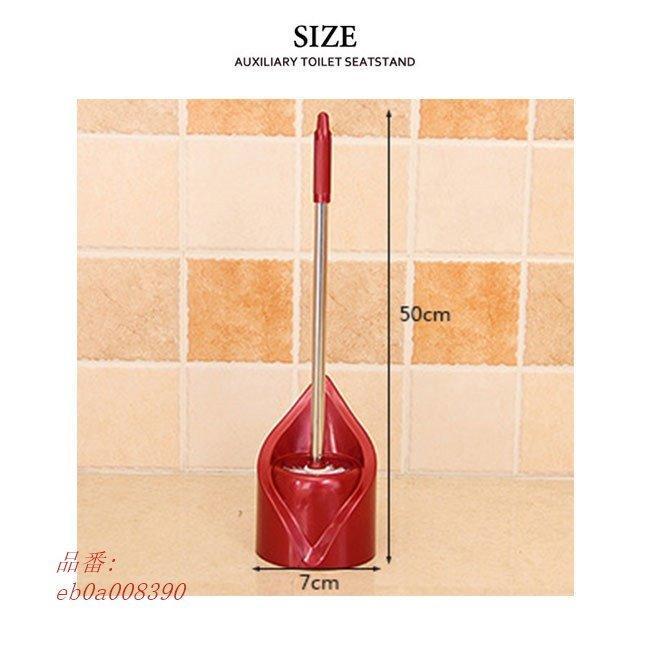 トイレ掃除用品 スリム トイレブラシ ケース付き 便器の死角|fihone|10