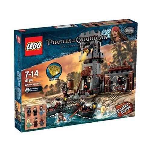 レゴ (LEGO) パイレーツオブカリビアン ホワイトキャップ湾 4194