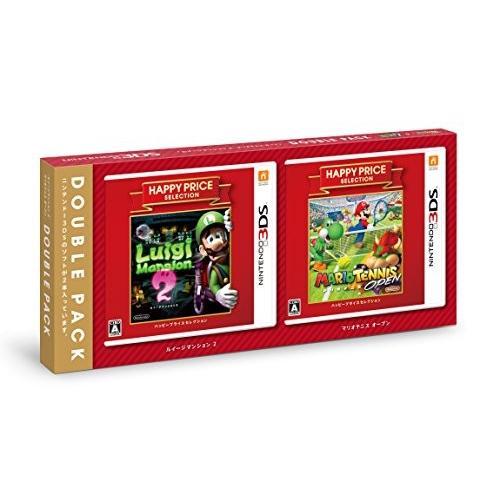 『ルイージマンション2・マリオテニス オープン』ダブルパック - 3DS