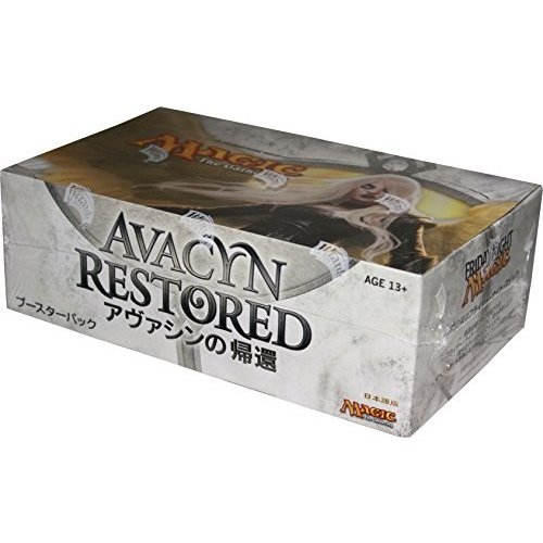 マジック:ザ・ギャザリング アヴァシンの帰還 ブースターパック 日本語版 BOX